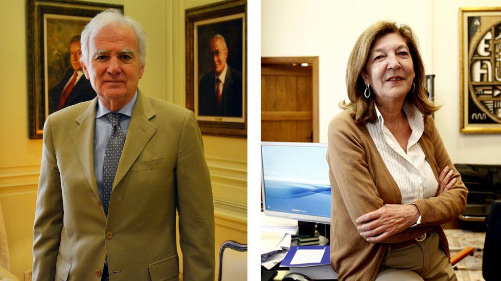 Cuando el Tarot es asignatura universitaria.Siera Míguez preside una sala en el Tribunal Supremo. Teresa Conde- Pumpido está en el Tribunal Superior.