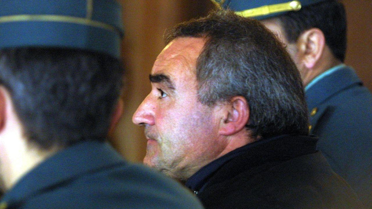 Alfredo Sánchez Chacón, durante un juicio en Pontevedra