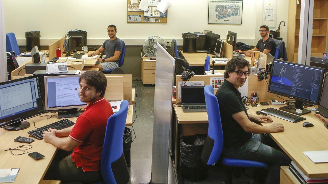 Parte del equipo del Laboratorio de Ingeniería Mecánica (LIM) ya se ha incorporado a sus puestos de manera presencial