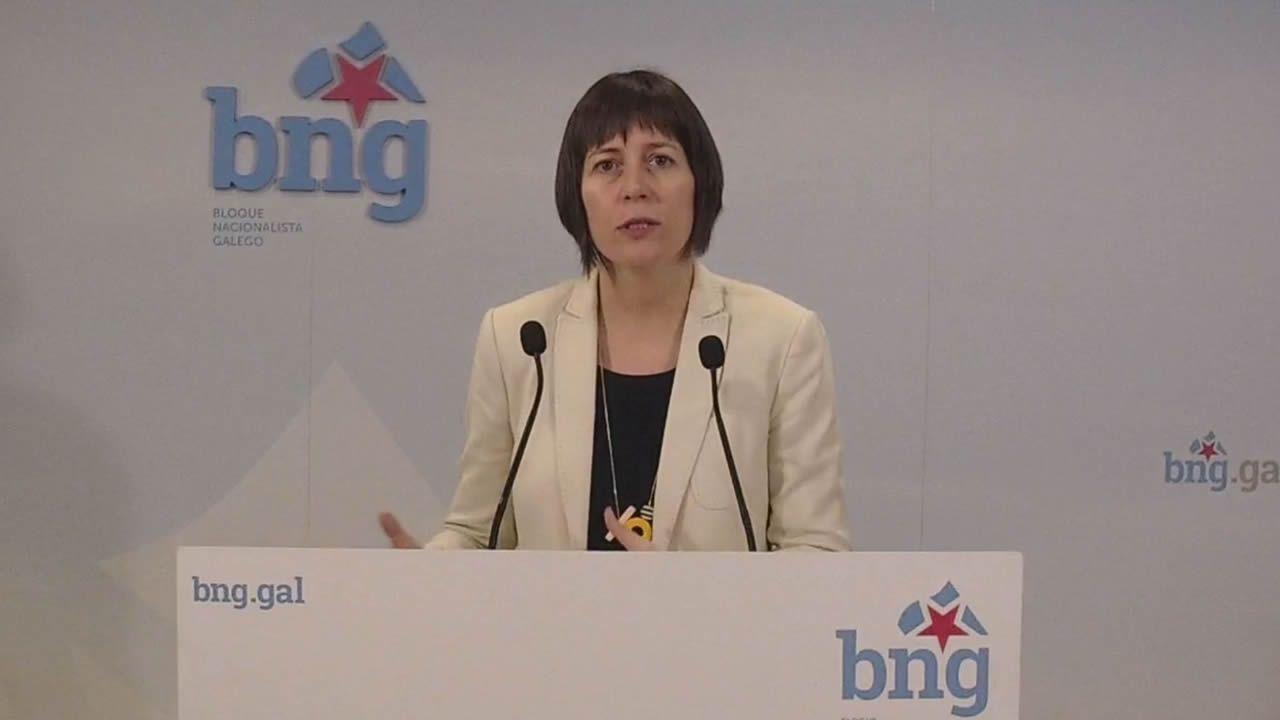 El BNG propone 40 medidas: blindar Galicia, eliminar cuotas a autónomos y reforzar la prevención de violencia machista.Pleno del Parlamento de Galicia