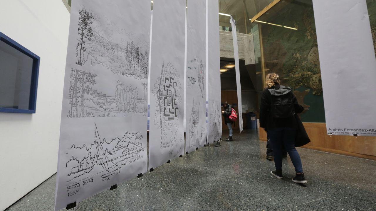 Proyectos de Francisco Castro que no vieron la luz.La Universidad Laboral de Gijón