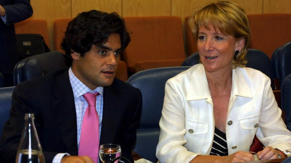 Junto al asesor Ricardo Güemes.