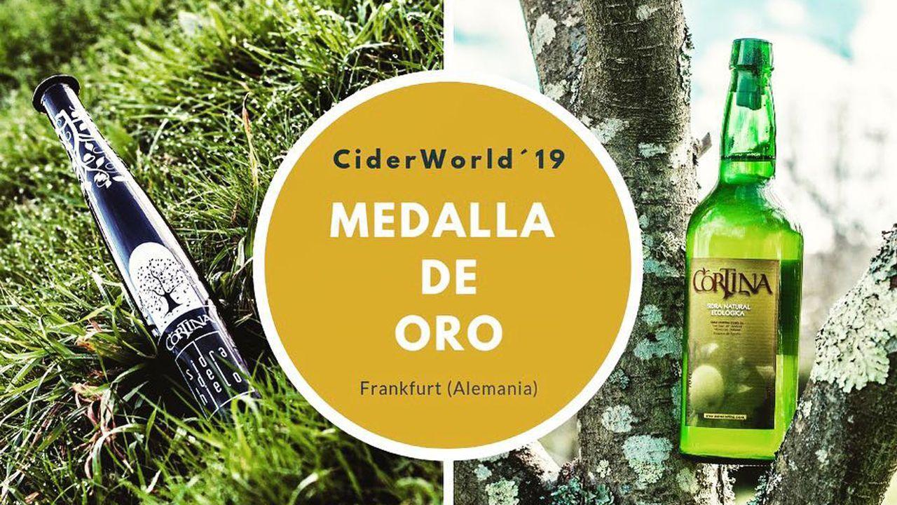 santacoruna.La sidra de hielo Cortina ganadora del certamen CiderWorld?19