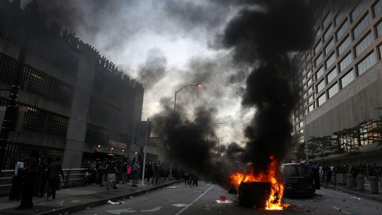 Protestas en Atlanta