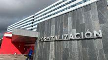 El área de Hospitalización, en el HUCA
