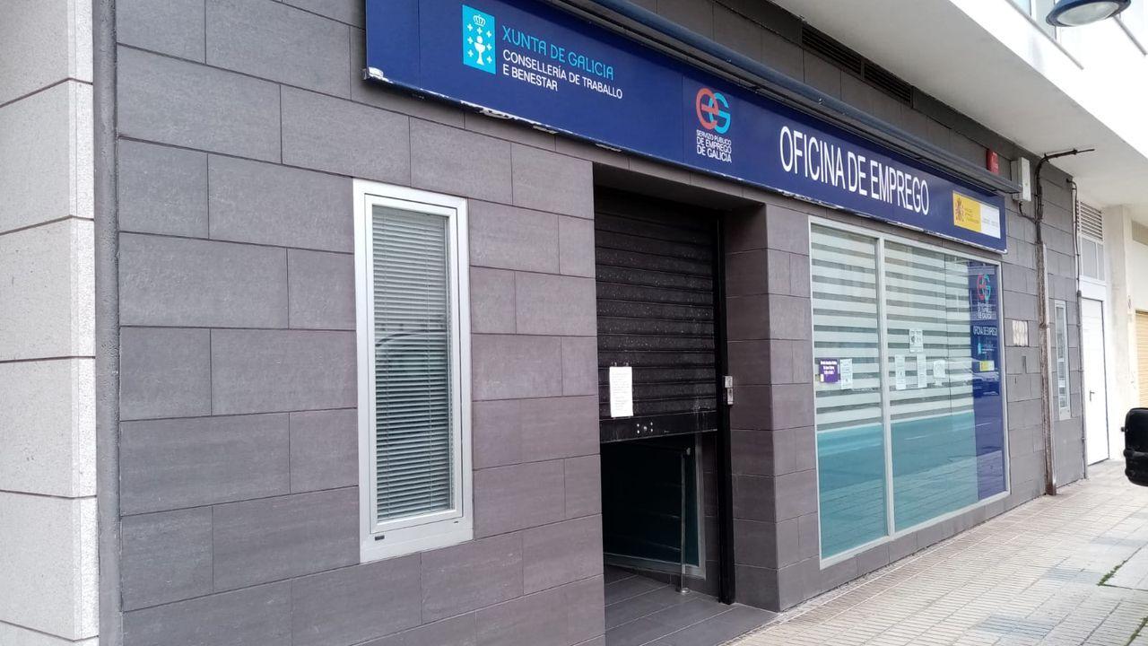 La Oficina de Emprego de Burela cubre también Xove, Cervo, O Valadouro y Alfoz