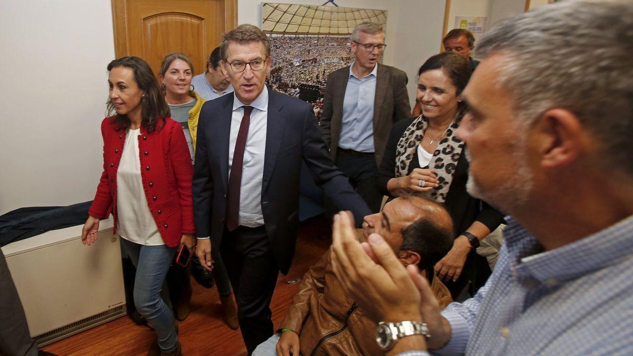 En el Hospital Montecelo, en Pontevedra, hay un paciente de coronavirus ingresado en planta