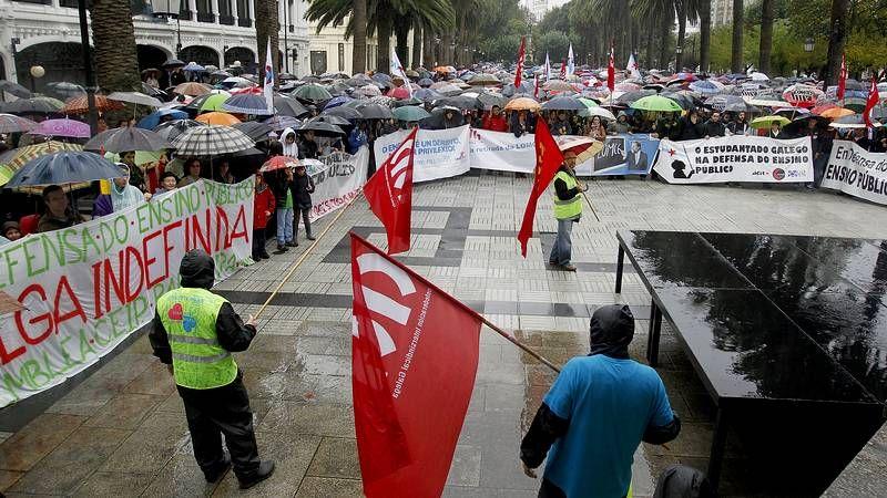 Madrid sale a la calle para protestar contra la LOMCE