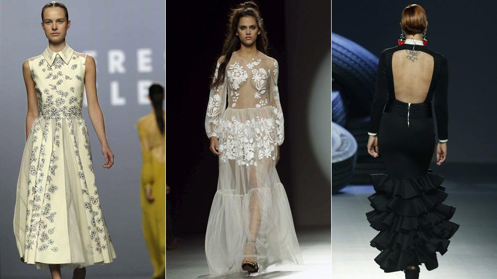 Los desfiles de la Madrid Fashion Week de este domingo.Juan Vidal