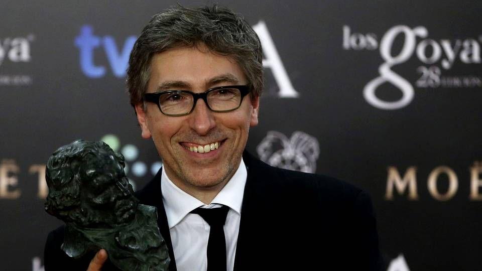 Tráiler «Vivir es fácil con los ojos cerrados».David Trueba con su Goya por «Vivir es fácil con los ojos cerrados»