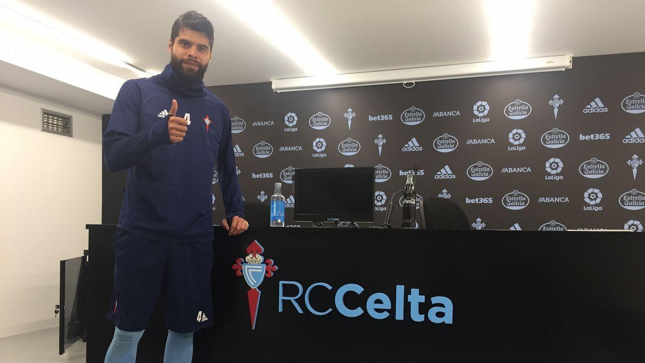 Néstor Araujo: «Los primeros seis meses me costaron mucho, pero soy feliz en el Celta»