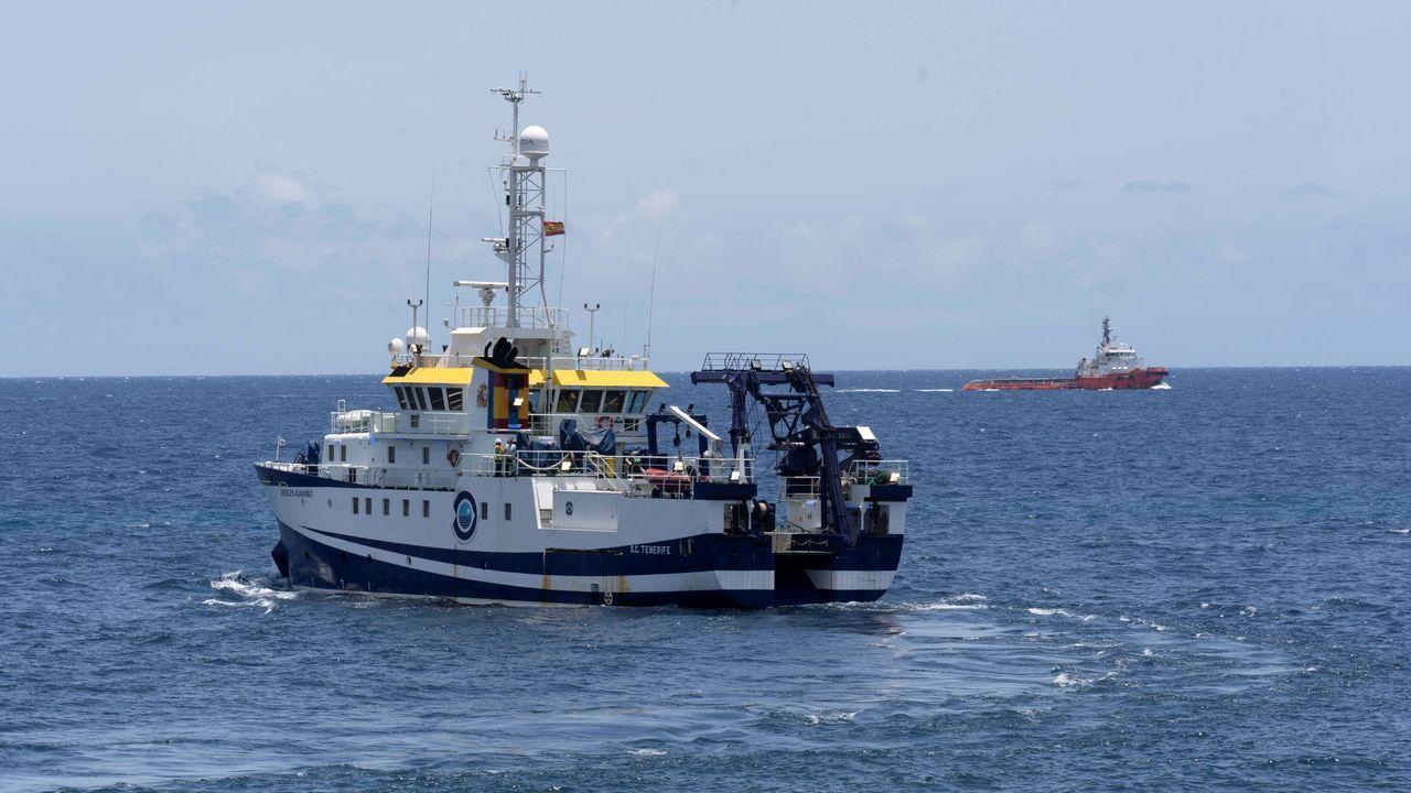 El Ángeles Alvariño tiene base en el puerto de Vigo
