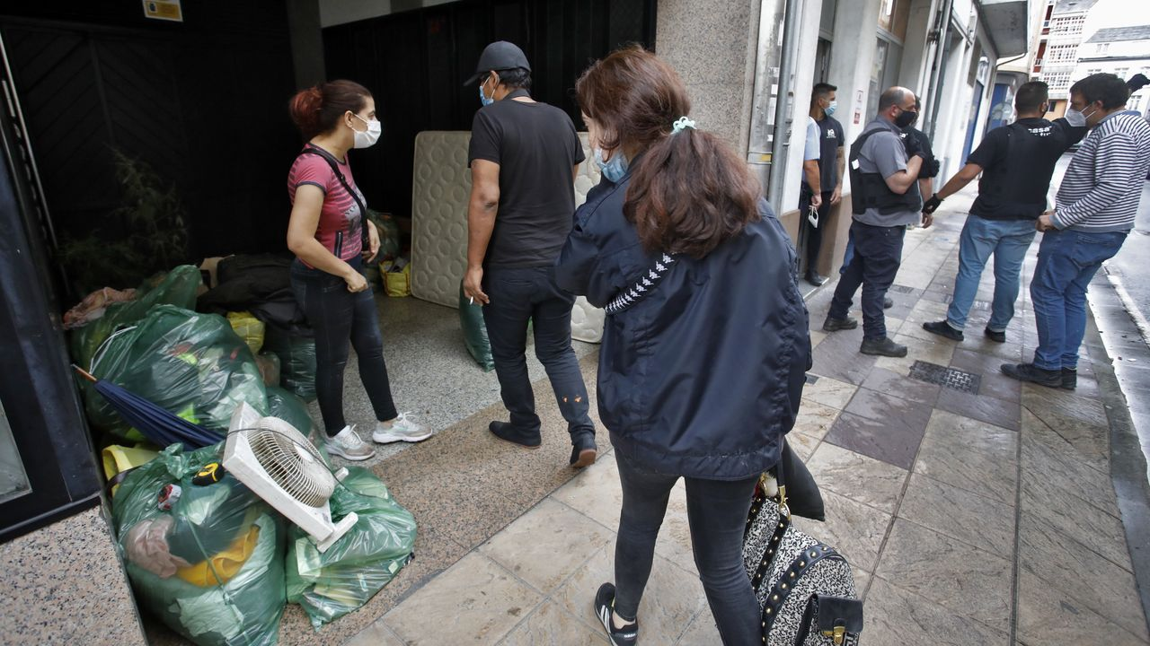 El pregón de San Froilán en imágenes.La semana pasada se desalojaron dos viviendas en Yáñez Rebolo