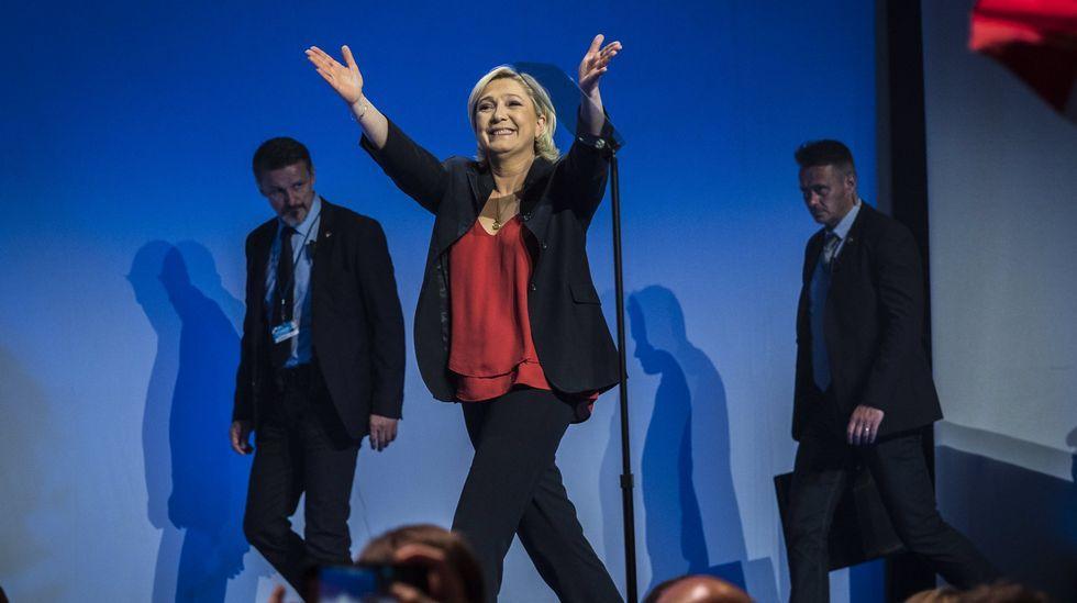 Francia decide el futuro de Europa.Marine Le Pen