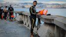 Travesía a nado en aguas abiertas en A Coruña