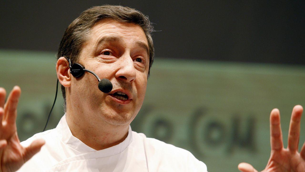 El chef español Joan Roca preparará un menú para mil personas en la edición de losÓscar.Joan Roca