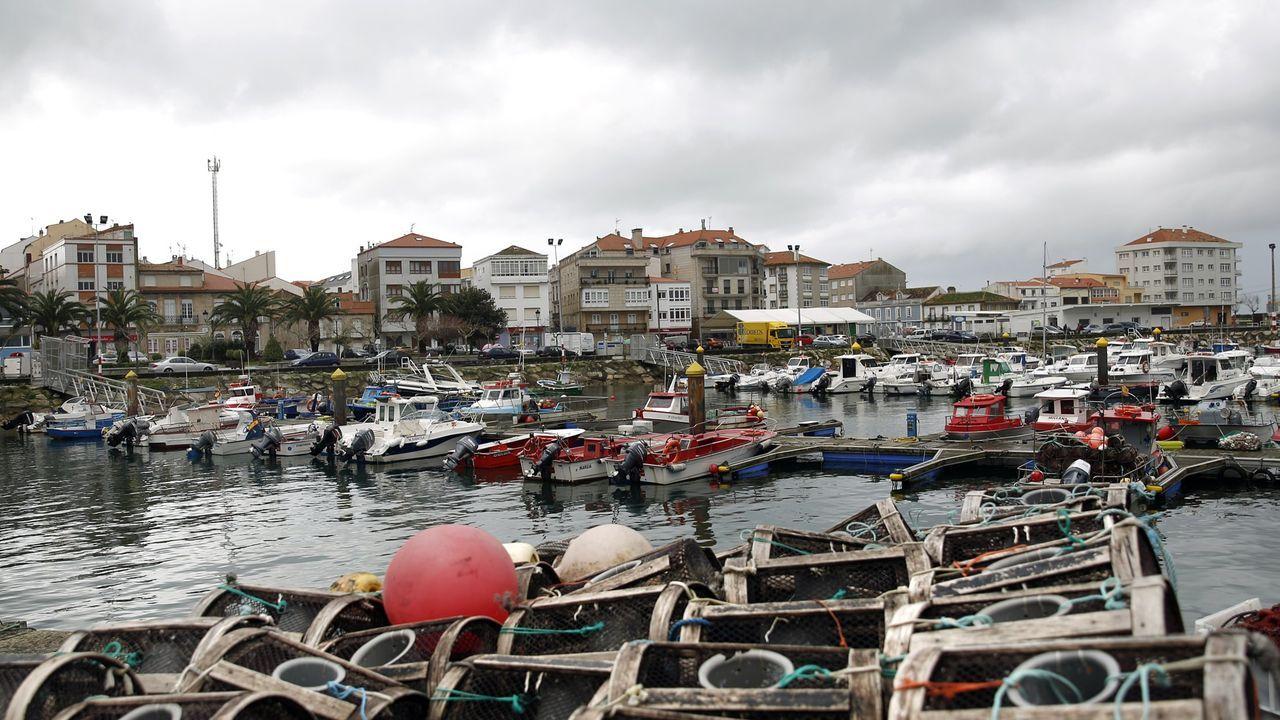 La obra de la fachada marítima de Porto do Son también está siendo revisada dentro del plan de accesibilidad