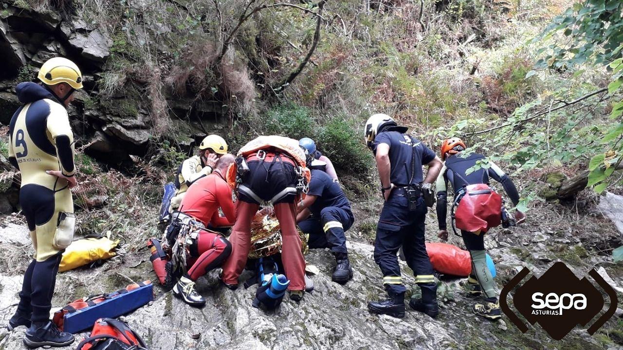 Enoturismo en Pazo Baión.Accidente de montaña en Amieva