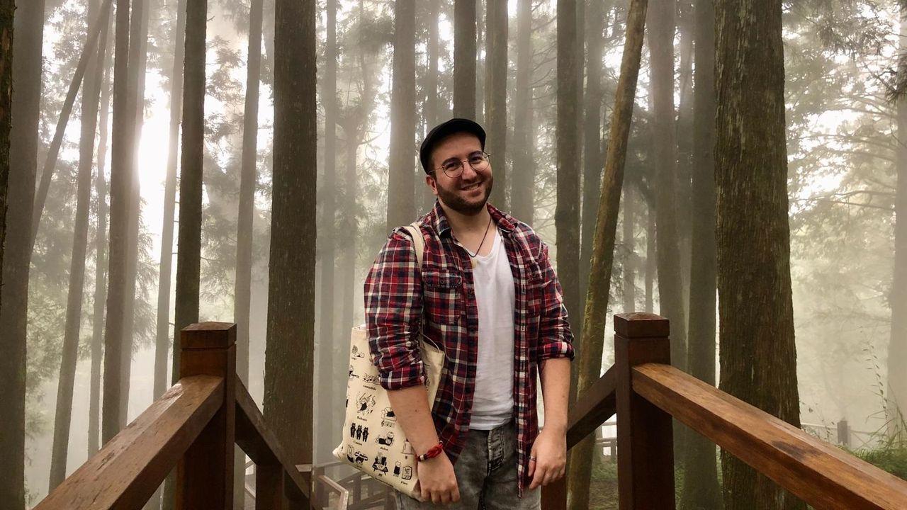 O compositor de Rianxo Antón Alcalde reside desde hai case dous anos en Taiwán
