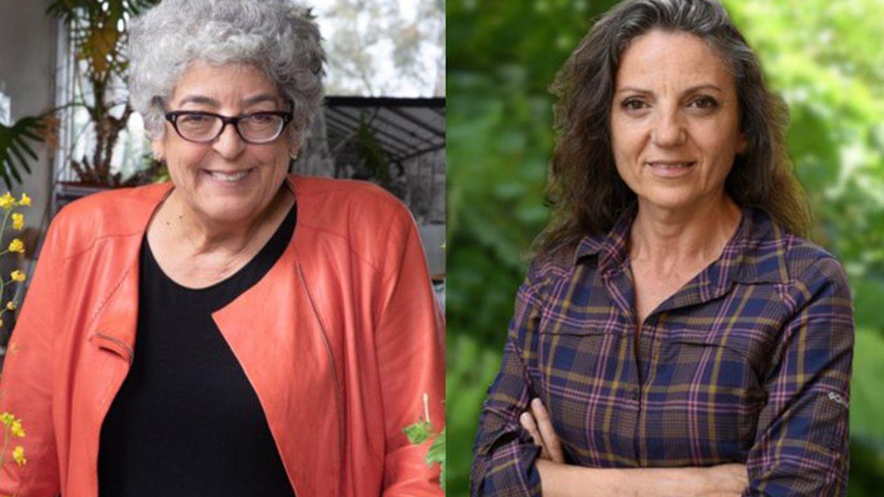 Leonor, con los premiados.Joanne Chory y Sandra Myrna Díaz, Premio Princesa de Asturias de Investigación Científica y Técnica 2019