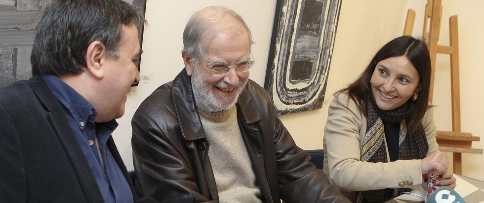 Jordi Ébole, el año pasado, en la grabacion en Santiago de uno de sus programas.