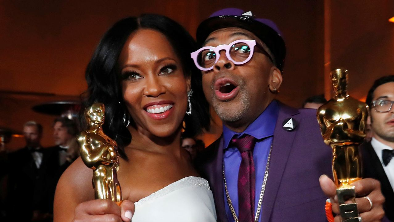 Regina King y Spike Lee
