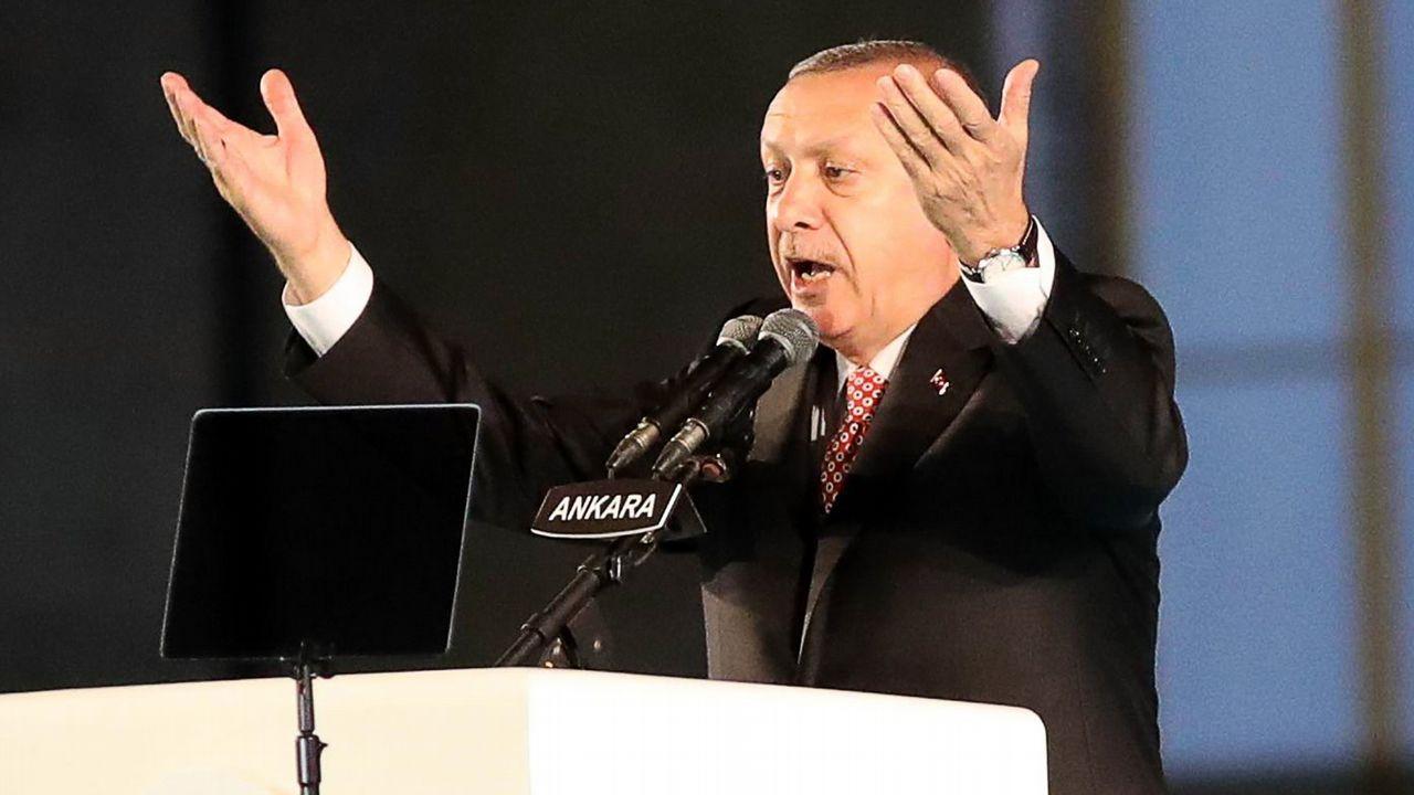 El presidente Erdogan