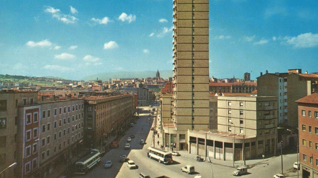 La torre de Teatinos en los 70