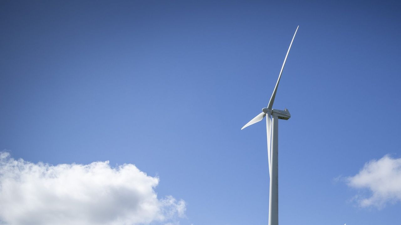 Zona en la que se pretende instalar el parque eólico de Pena do Corvo