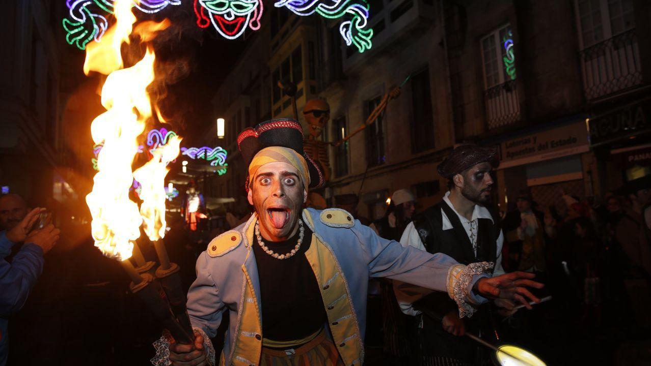 Noite Pirata en Pontevedra