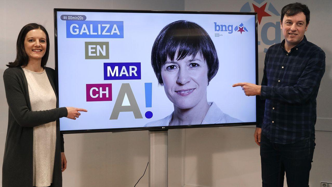 «Compostela, un ano de Voz».Claudia Delso (Marea Atlántica)