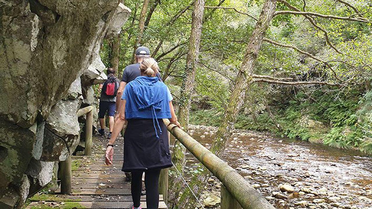 Ruta del río Esva, en Valdés