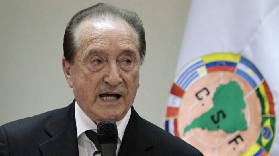 Eugenio Figueredo, presidente de Conmebol.