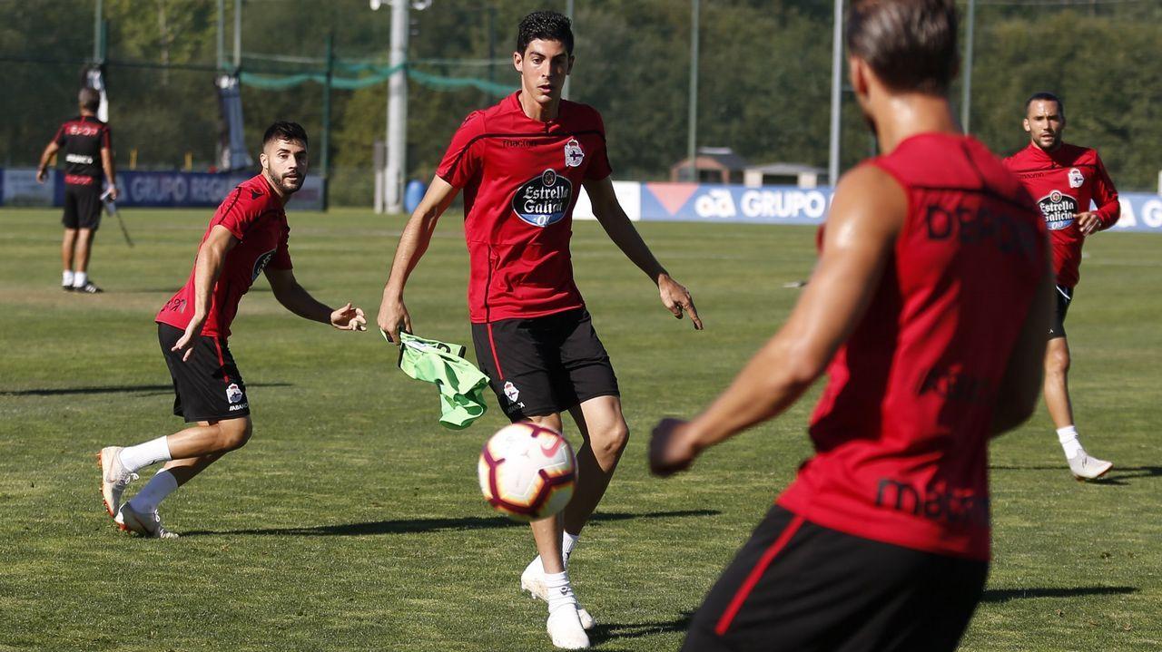 Las imágenes del Deportivo - Zaragoza.Imagen del Dépor-Reus disputado en octubre en Riazor y que acabó con triunfo coruñés por 2-0