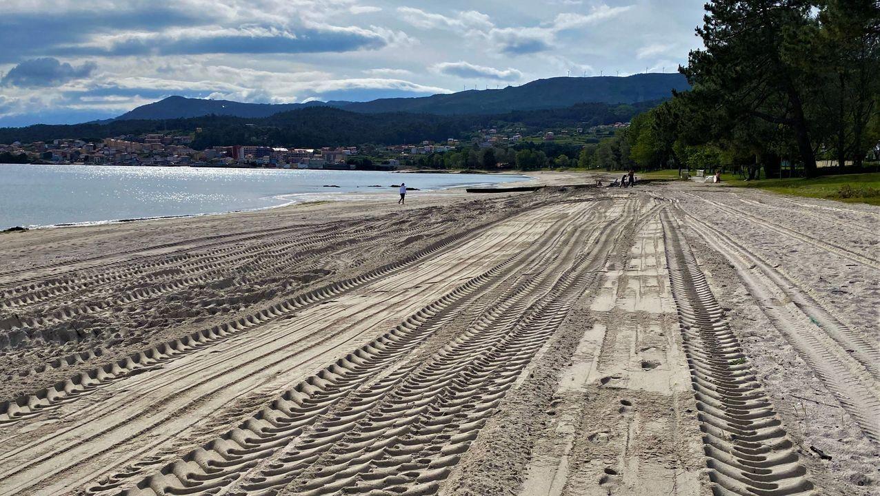La comarca puede presumir de contar con arenales poco masificados en los que disfrutar del mar y del aire libre