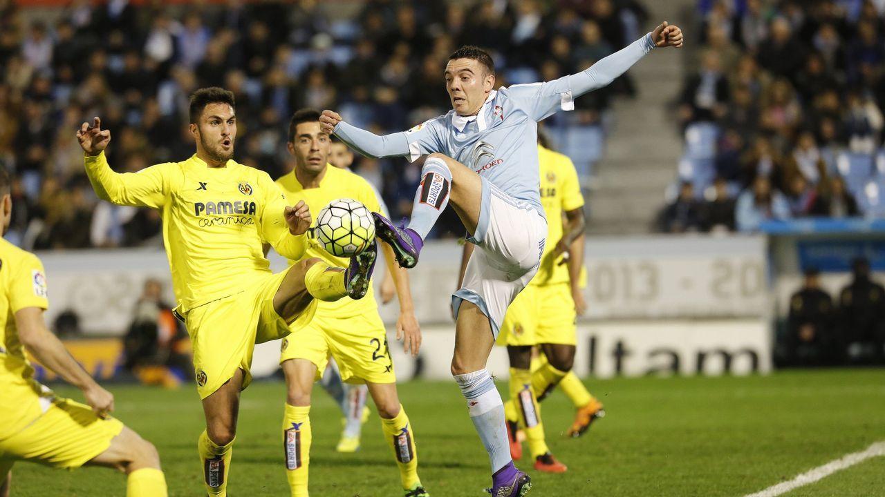 183 - Celta-Villarreal (0-0) de Primera el 2 de marzo del 2016