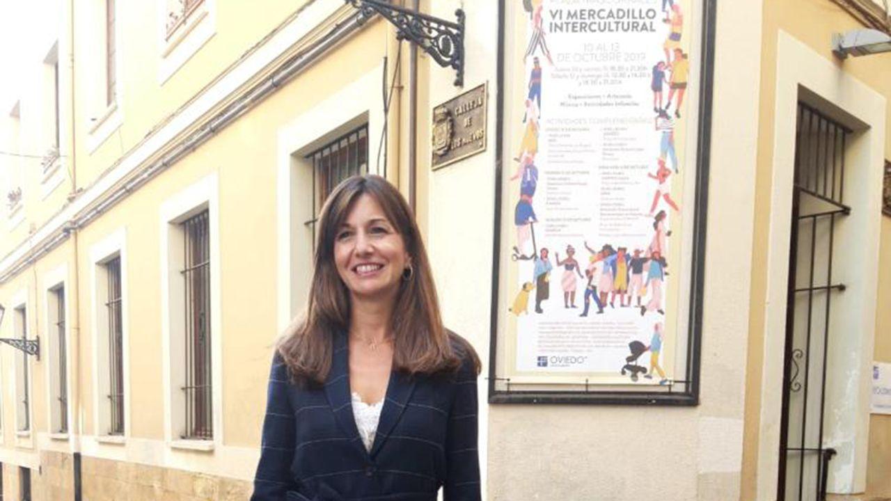 El álbum personal de Ignacio Villaverde.La concejala de Políticas Sociales de Oviedo, Leticia González