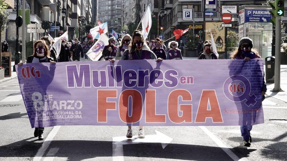 Movilización en Vigo
