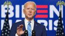 El presidente electo de Estados Unidos, Joe Biden
