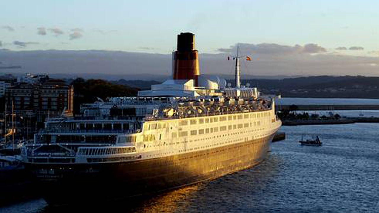 El crucero Queen Elizabeth