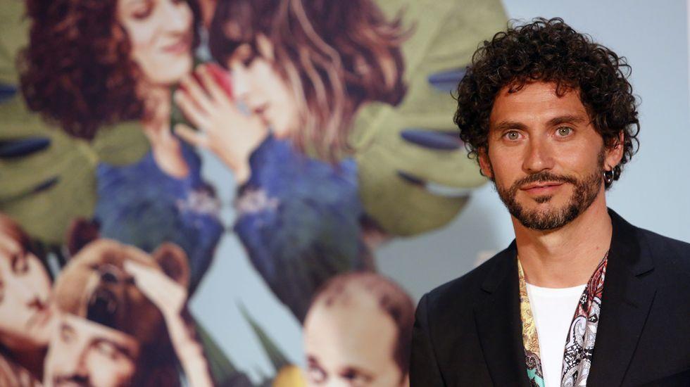 El elenco de «Julieta» se pasea por Cannes.Fernando Cayo, José Pedro Carrión y Alfonso Lara protagonizan Páncreas, de Patxo Tellería.