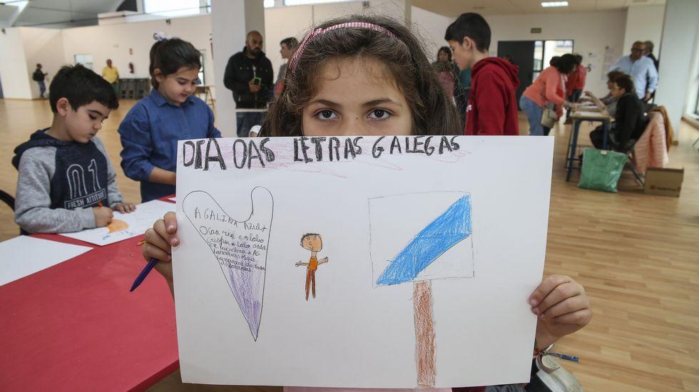 Carballo púxolle voz as Letras Galegas