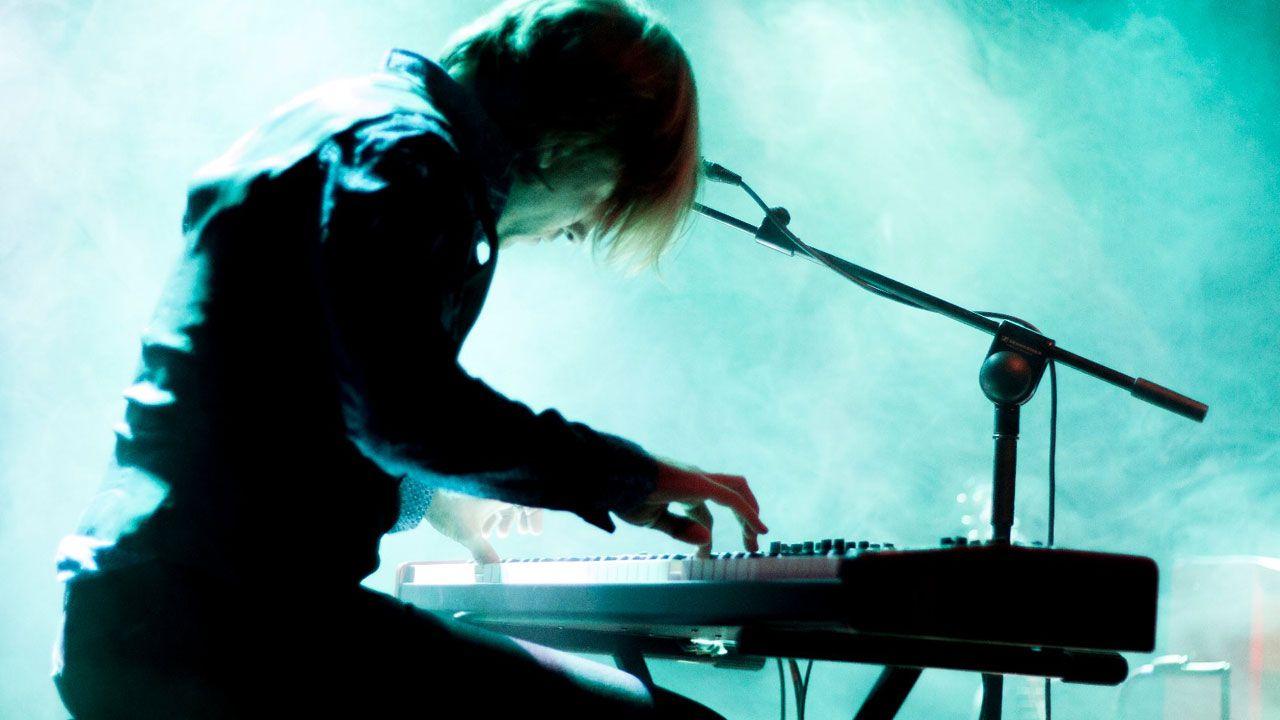 Un momento de la actuación de Mercury Rev en el Gijón Sound Festival