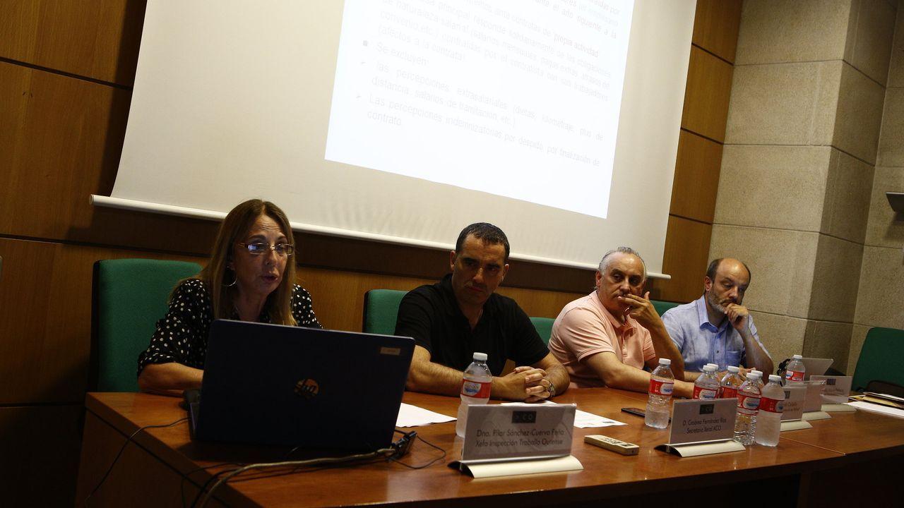 En la imagen, de archivo, un curso de prevención de riesgos celebrado en Expourense coincidiendo con la feria Previsel
