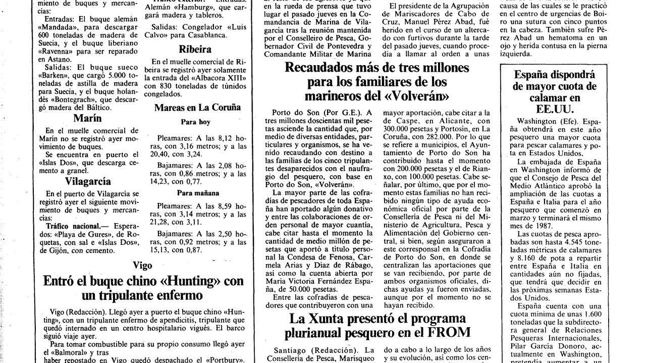 Adiós a la emblemática palmera del Concello de Ribeira.En la mesa electoral de la calle Otero Pedrayo obtuvo este domingo el PP su mejor resultado en Monforte, con un 58% de los votos