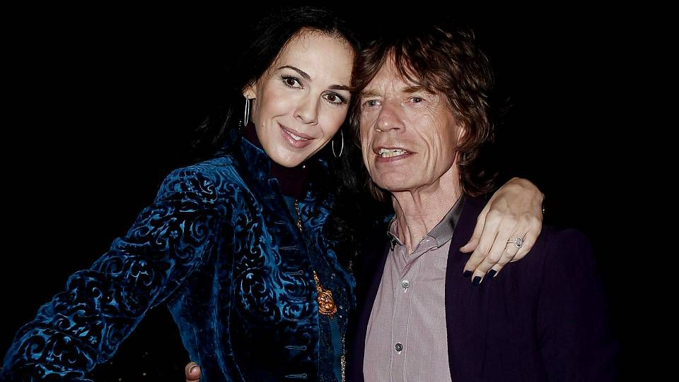 L'Wren Scott junto a Mick Jagger en una imagen de archivo.
