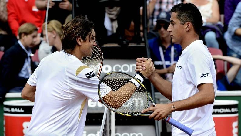 Ferrer y López en su debut en el torneo de dobles