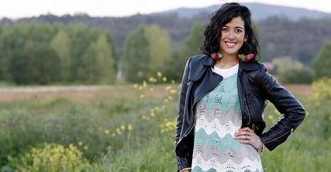 Raquel del Rosario.Lucía Pérez, que participó en Eurovisión en el 2011, estuvo esta semana en Erbecedo.