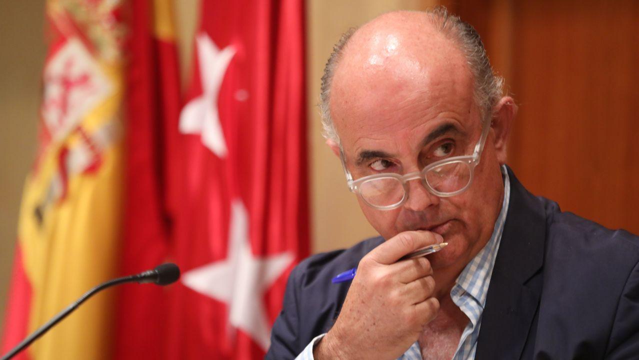 El viceconsejero de Salud Pública y Plan covid-19 de Madrid, Antonio Zapatero