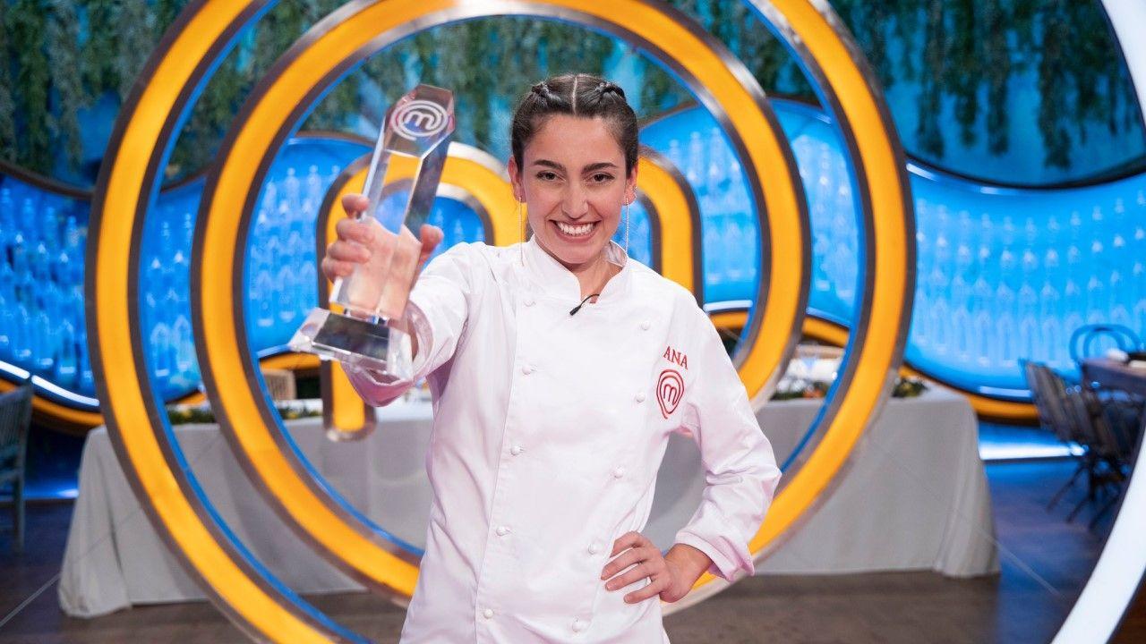 Ana Iglesias gana «MasterChef».Miguel Angel Munoz